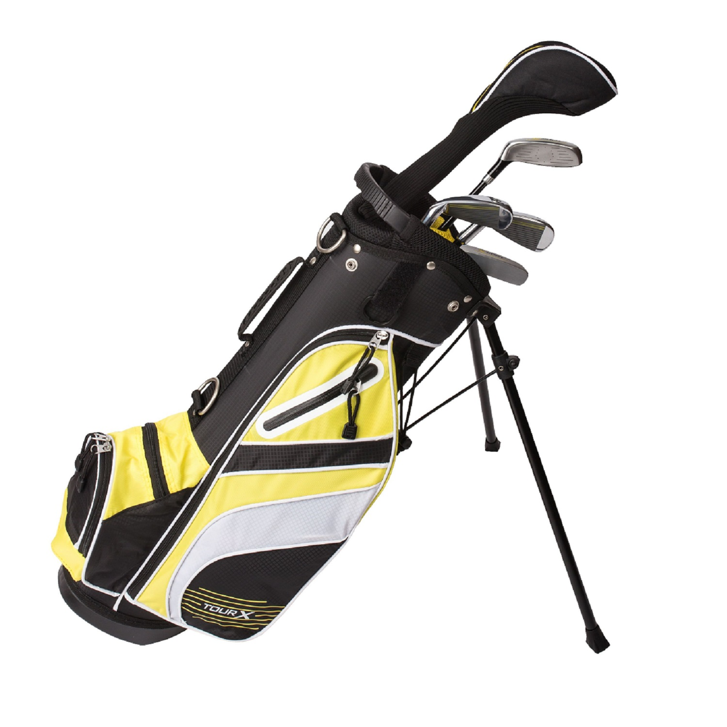 Tour X Size 1 5pc Jr Golf Set w/Stand Bag