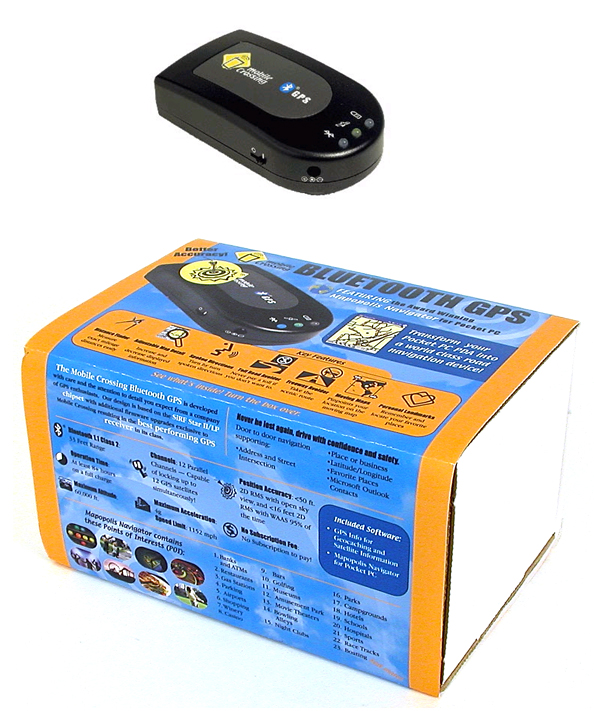 Mobile Crossing Bluetooth GPS Receiver - Special Edition