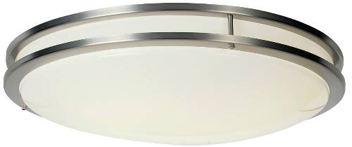 Only 11493 FLUSH MOUNT CEILING FIXTURE WITH ONE 32 WATT AND ONE