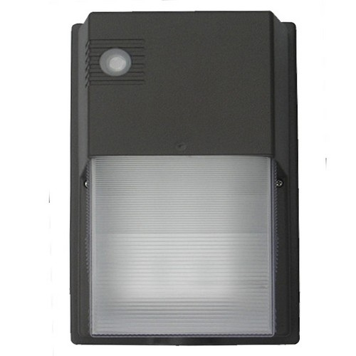 LED Mini Wall Packs 30W 1400 Lumens 120-277V with Photocell White