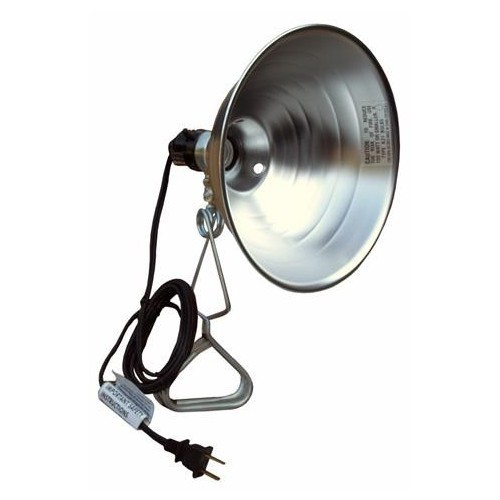 Clamp-On Lamps with Reflector