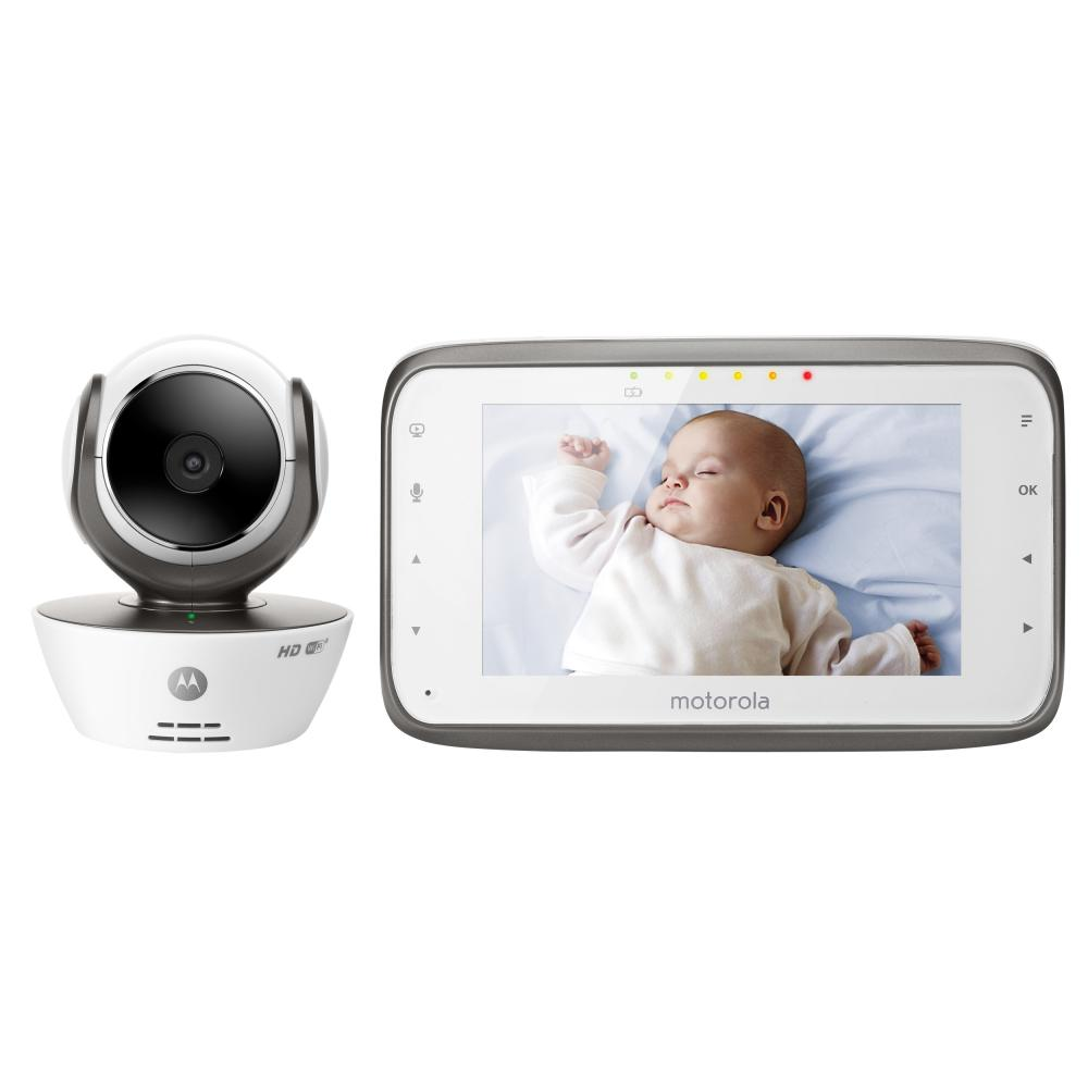 Motorola Digital Video Baby Monitor with Wi-Fi Internet Viewing