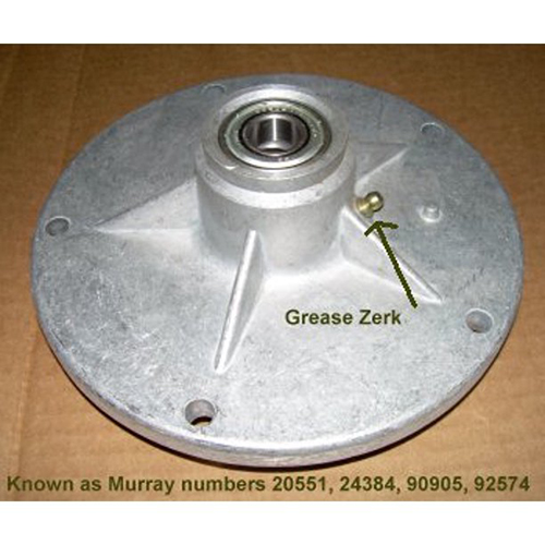 Murray Lawnmower Parts -  Quill assembly to fit most Murray riding mower decks