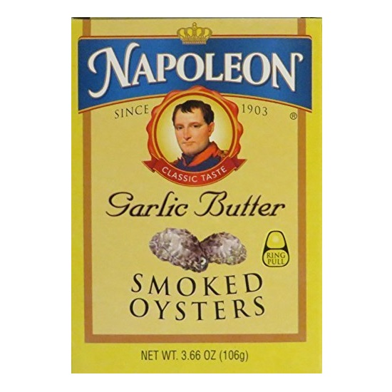 Napoleon Garlic Butter Smoked Oysters (1x3.66 OZ)