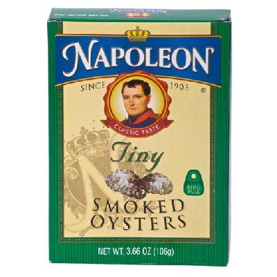 Napoleon Co. Baby Oyster Smoked (1x3.66OZ )
