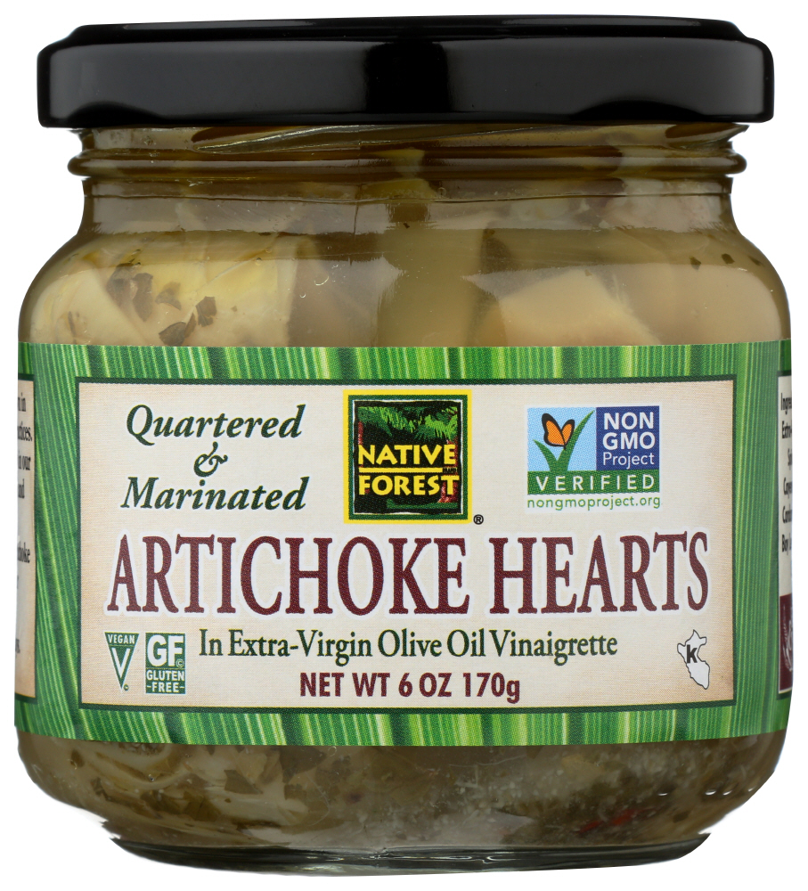 Native Forest Artichoke Hearts Marinated (6x6.5 Oz)