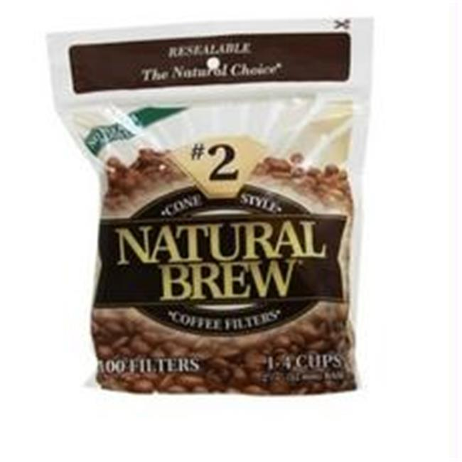 Natural Brew Cone Coffee Filters, #2 (12x40CNT )