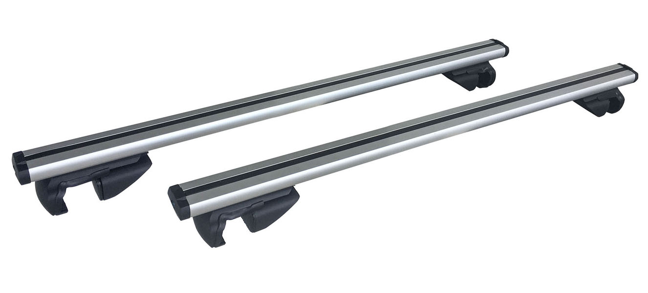 47 in. Universal Aluminum Roof Bars For Small SUVs, Set of 2