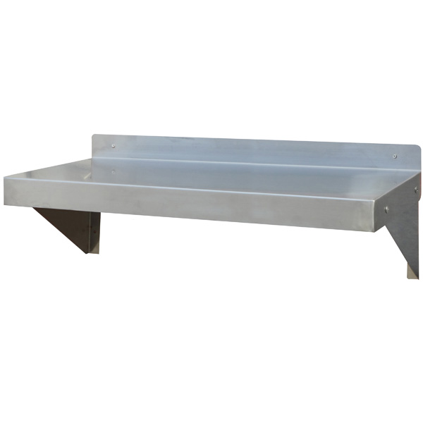 36 in Stainless Steel Wall Shelf