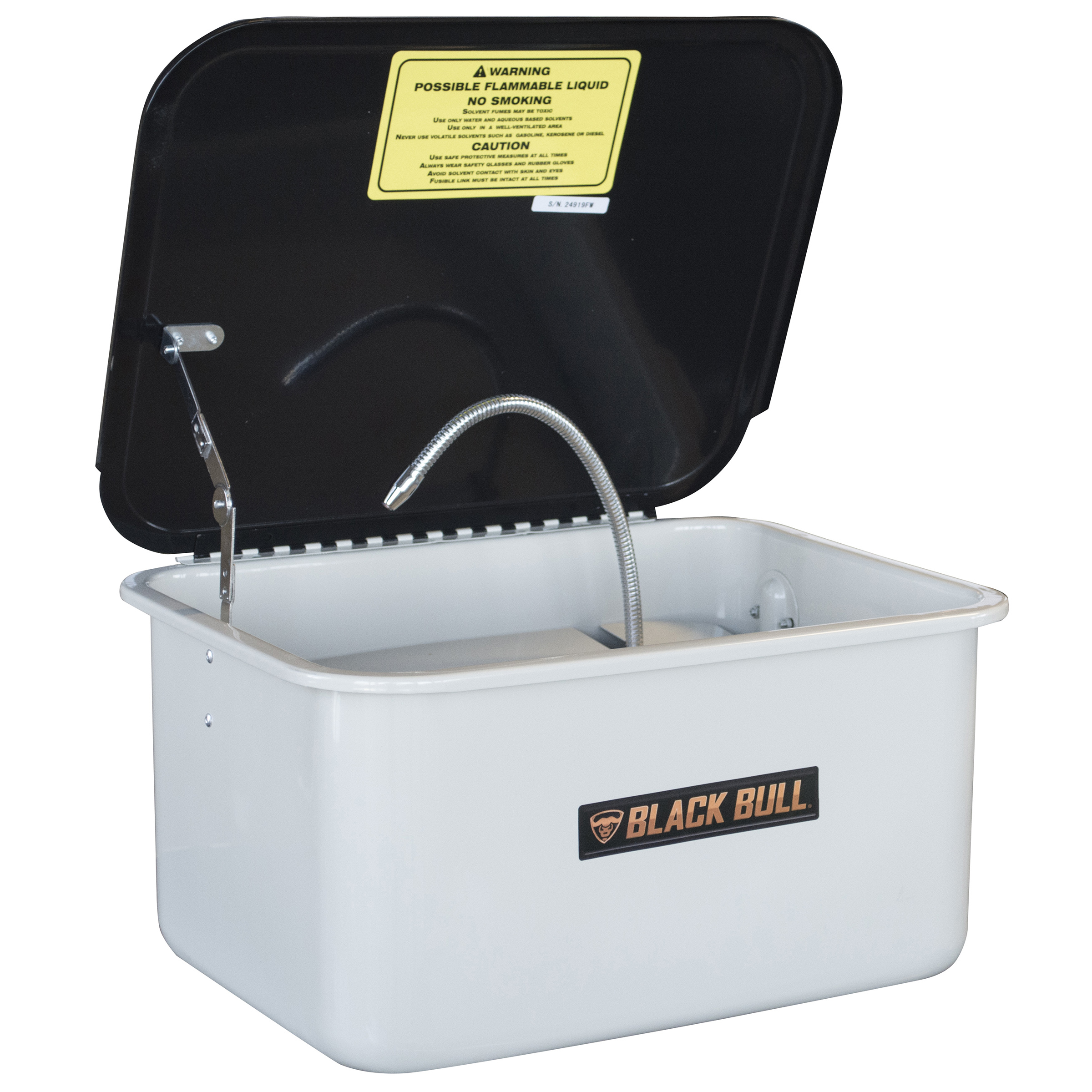 Black Bull 3.5 Gallon Portable Parts Washer