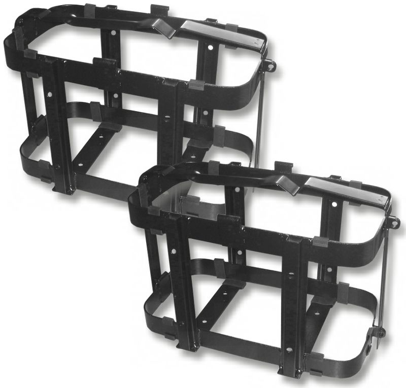 UNIVERSAL JERRY CAN HOLDERS (Pair) - LOCKABLE