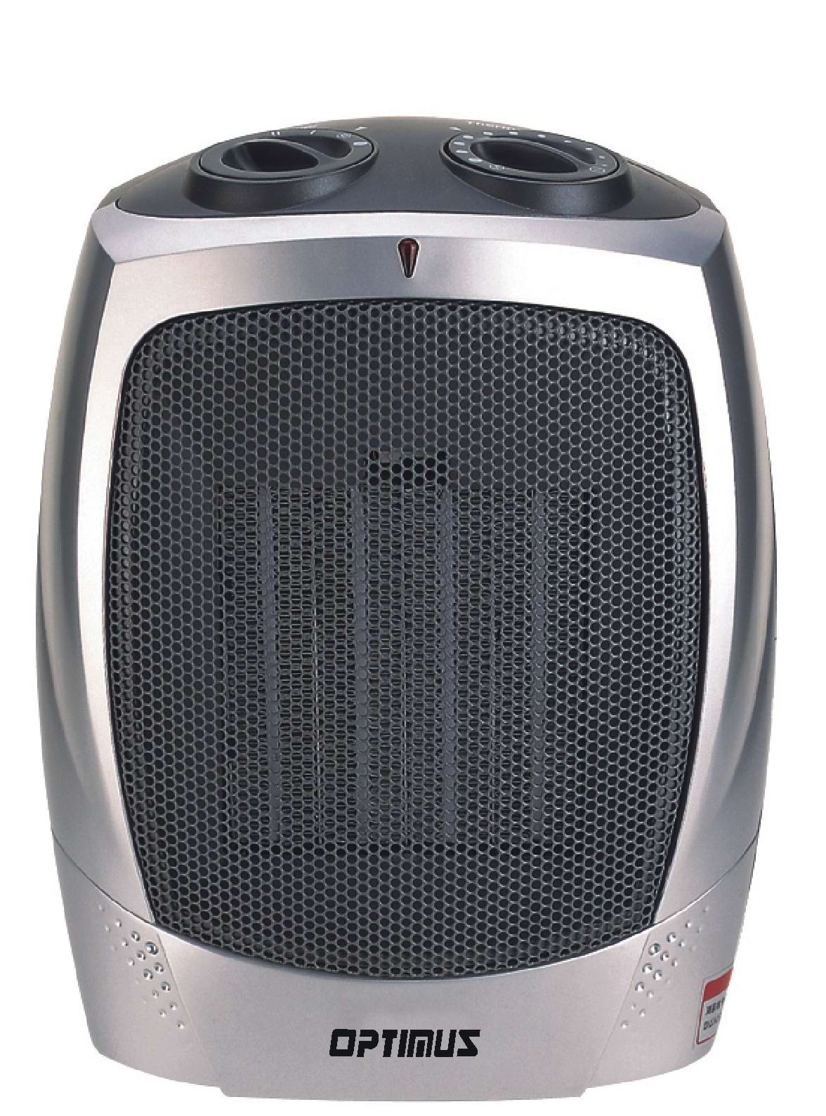 OPTIMUS H7004 HEATER CERAMIC WITH THERMOSTAT PORTABLE