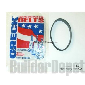 Oreck Belts for XL2000, 2200, 2600, 3700, 4090, 9000, 9100, 9300, and DS1700HY models (3/Pack)