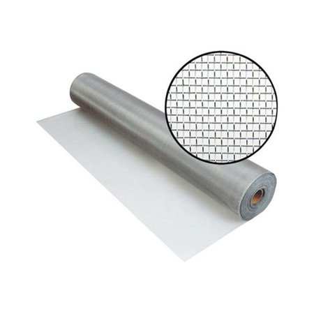 3000731 32 IN. X100 FT. BRIGHT ALUMINUM SCREEN