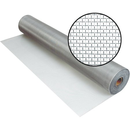 3000739 48 IN. X100 FT. BRIGHT ALUMINUM SCREEN