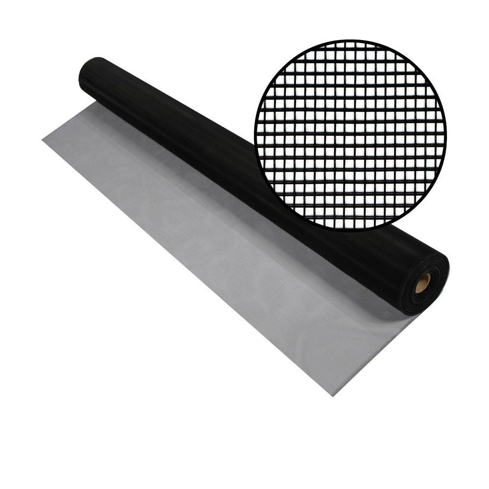 3001228 36 IN. X100 FT. BLACK ALUMINUM SCREEN