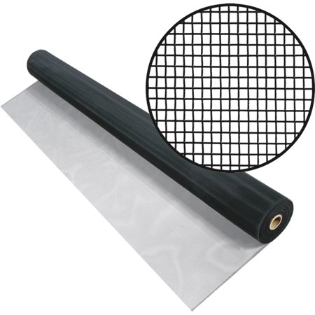 3001234 48 IN. X100 FT. BLACK ALUMINUM SCREEN
