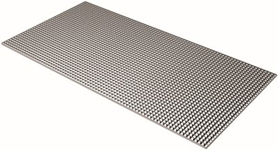 plaskolite egg crate diffuser 1 2 in x 1 2 in x 3 8 in metallic. Black Bedroom Furniture Sets. Home Design Ideas