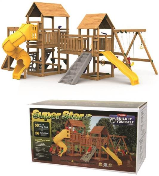 BUILDING KIT SUPERSTAR PLAY TOWER