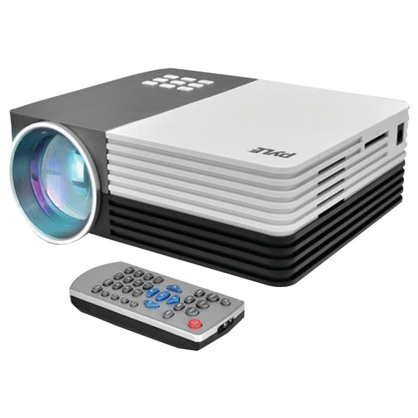 "Pyle Home PRJG65 1080p HD Digital Multimedia Projector with up to 120"" Display"