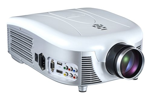 Pyle Prjd907 Widescreen LED Projector With Up To 140 Inches