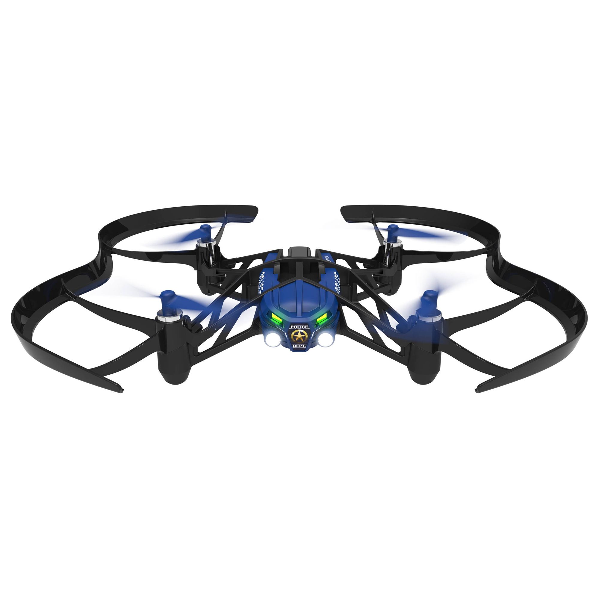 Parrot SWAT Airborne Night Minidrone (Blue)