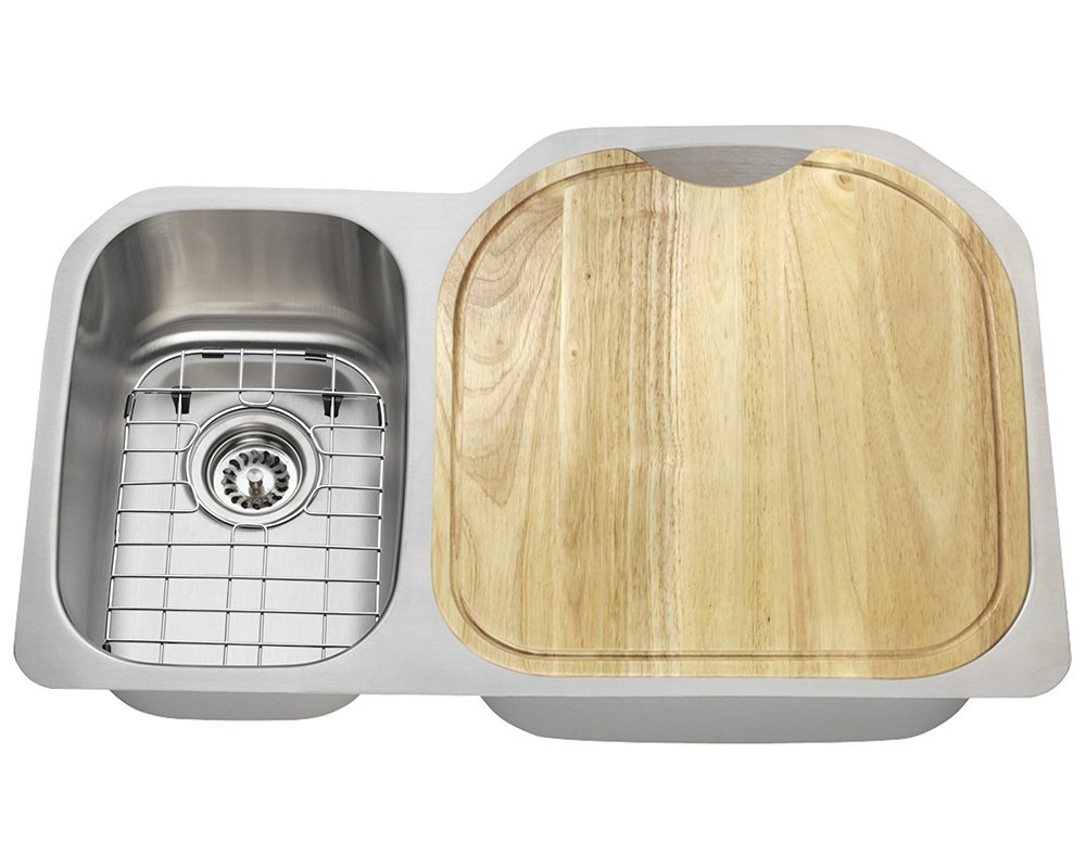 Polaris Sinks PR1213 16 Gauge Kitchen Ensemble