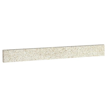PREMIER� BATHROOM VANITY GRANITE UNIVERSAL SIDE SPLASH, GOLDEN SAND, 22 IN. X 4 IN.