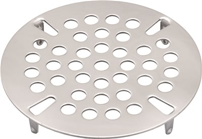 PREMIER COMMERCIAL FLAT WASTE STRAINER PLATE, 3-1/2 IN., STAINLESS STEEL