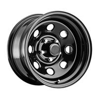 Pro Comp Steel Wheels Series 252 D-Window 15x10 5 on 4.5 Gloss Black 252-5165