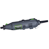 Genesis GRT2103-40 Variable Speed Rotary Tool, 120 VAC, 1 A, 1/8 in Keyless Chuck, 8000 - 30000 rpm