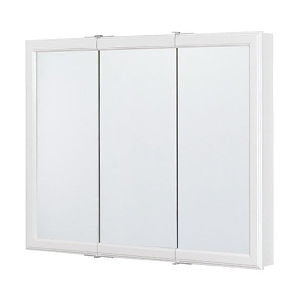 WHITE  TRIVIEW MEDICINE CABINET 36 IN.
