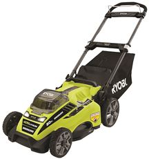 RYOBI� 40-VOLT BRUSHLESS LITHIUM-ION CORDLESS ELECTRIC MOWER KIT, WITH 5.0AH BATTERY