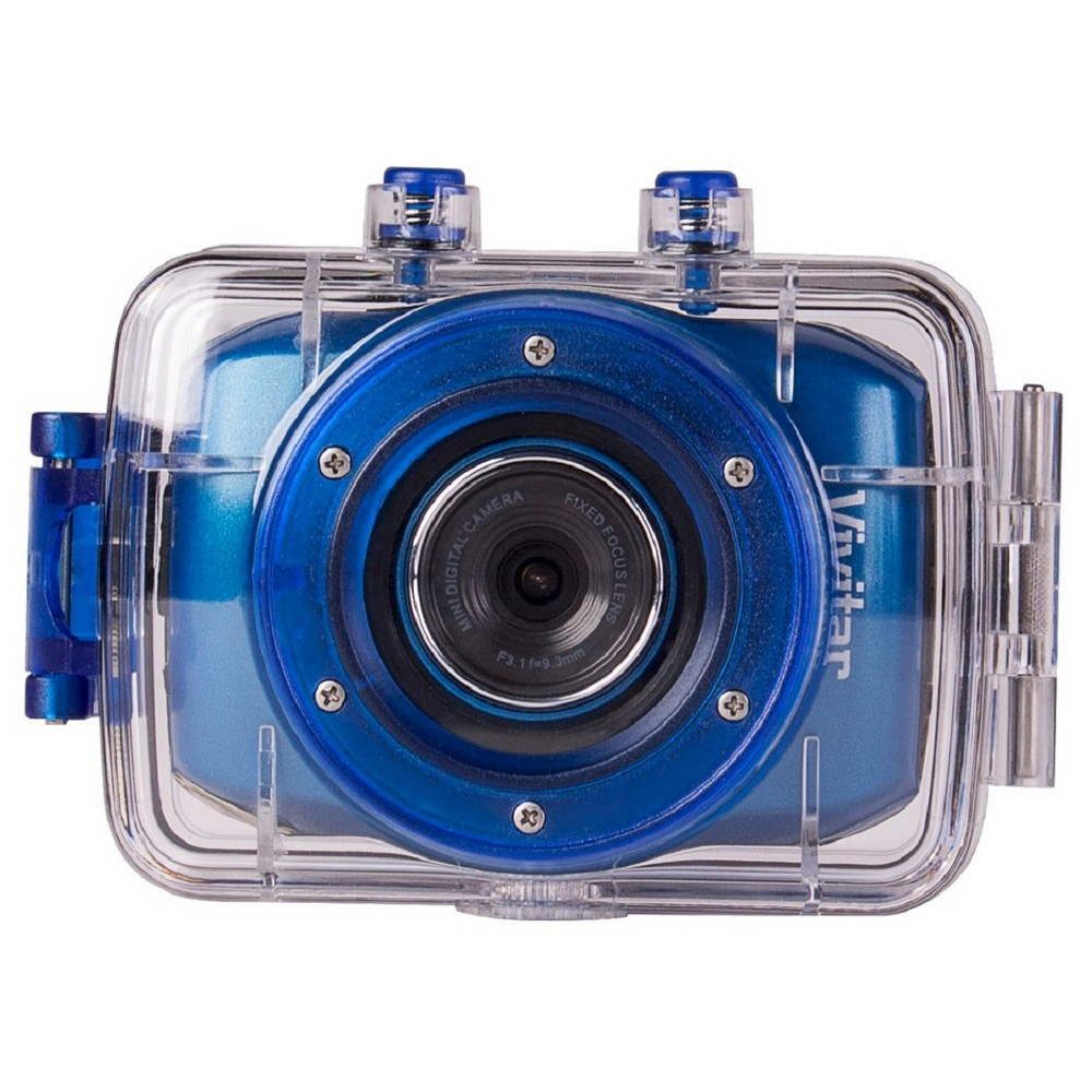 VIVITAR DVR783HD-BLU BLUE 5.1MP ACTION CAMCORDER 720P