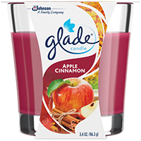 CANDLE APPLECINN GLADE 3.8OZ
