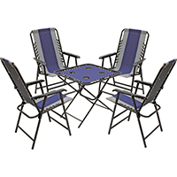 Only Table Chair 5piece Set Nvy Gry 099266354200 Xf4301ox05fr1bkox Seasonal Trends