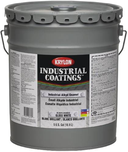 Only Paint 53 Series Industrial Alkyd Enamel White 5 Gallon 035777490211 K00530404 20