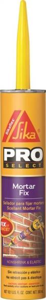 Sika Sikaflex 1-Component Mortar Joint Repair, 10 oz, Cartridge, Limestone, Aromatic, Paste