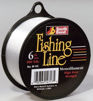Only fishing line monof 6 lb 900 yd 039364147175 for Fishing line home depot