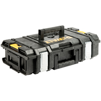 DeWalt DS150 ToughSystem Small Tool Box 13 in W x 21 in D x 6 in H x 4 mm T, 66 lb
