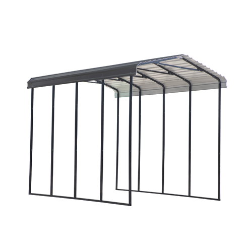 ARROW Carport 14x20x14 - Charcoal