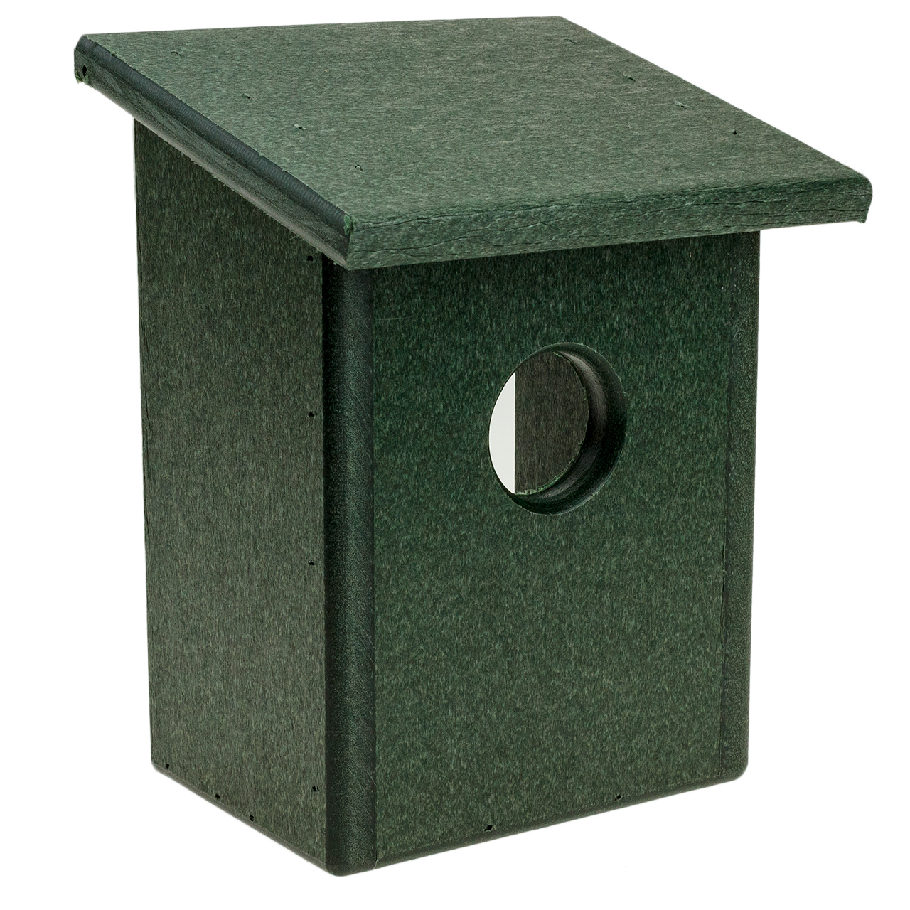Recycled Plastic Window Nest View Bird House