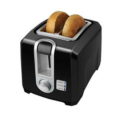 BD 2 Slice Toaster Black