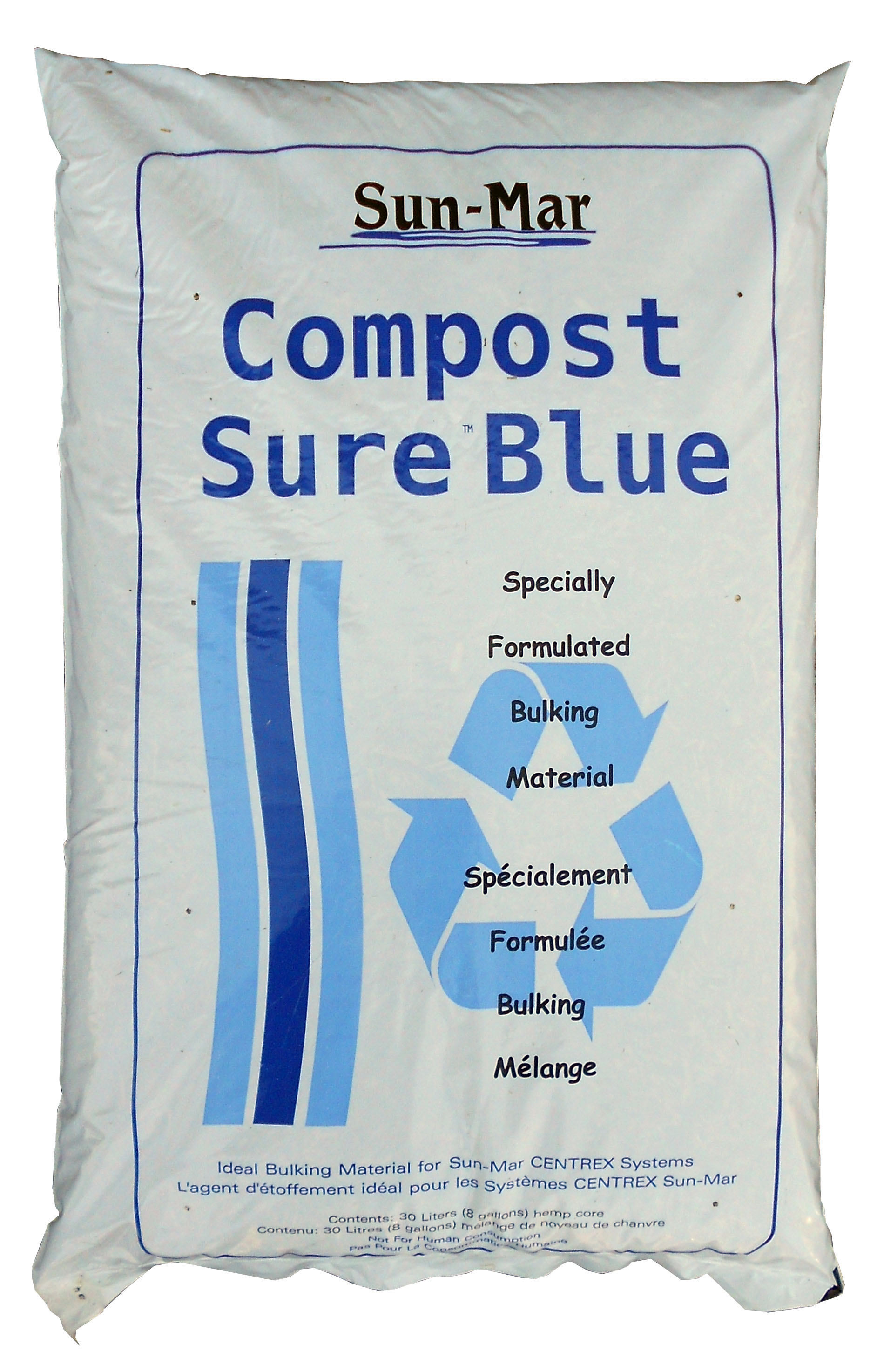 Compost Sure, Blue (Box of 5 - 8 gallon bags)