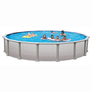 "Paragon 18' Round 52"" Resin/Steel Above Ground Pool"