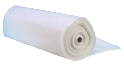 FROST KING� PLASTIC SHEETING ROLL, 10' X 25' 3 MIL CLEAR