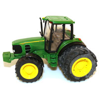 TRACTOR TOY WITH DUALS JOHN DE