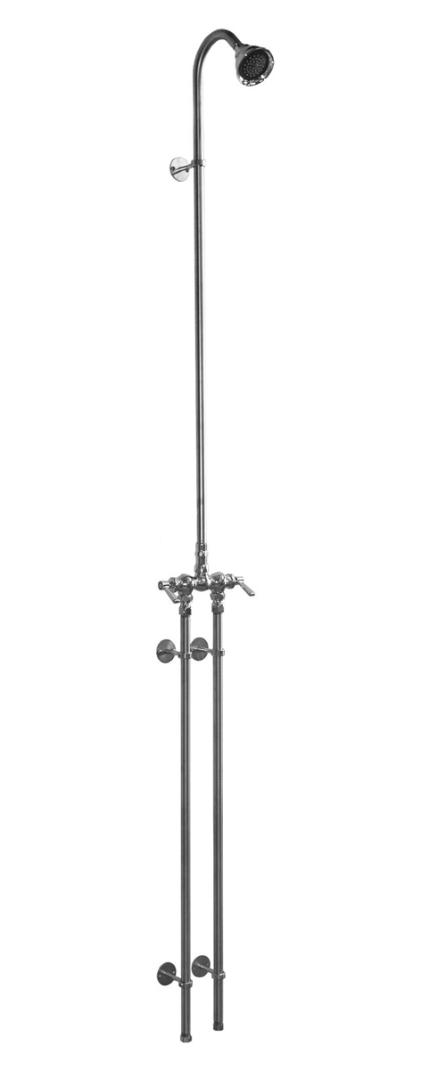 WMHC-772 ADA Compliant Wall Mount Hot & Cold Shower With 3? Shower Head