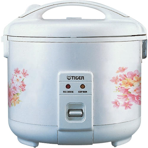 TIGER JNP1000 RICE COOKER AND WARMER 5.5 CUPS NON STICK INNER