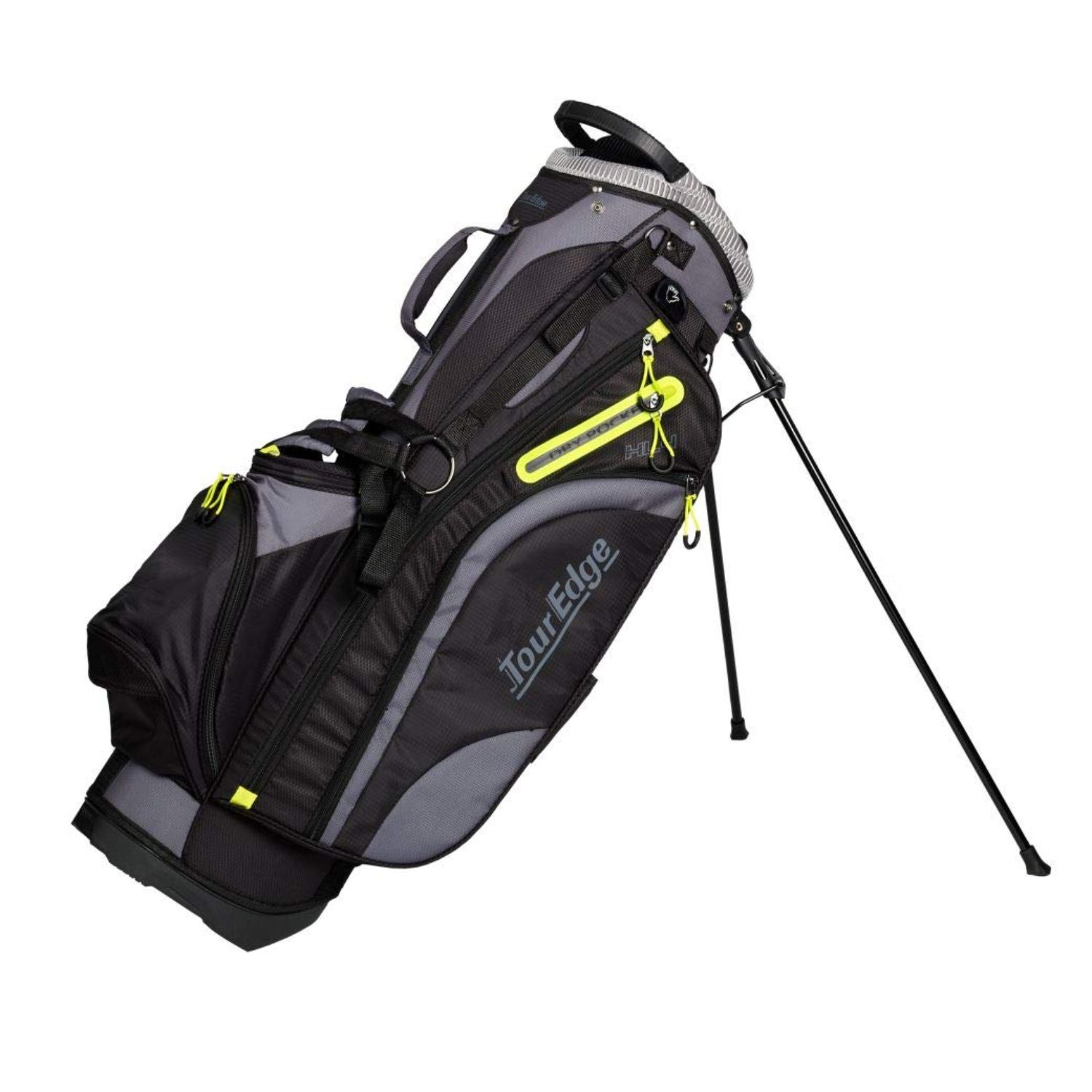 Tour Edge Hot Launch HL4 Ladies Golf Stand Bag-Sil Lime Blk